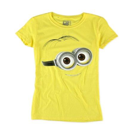 c3f896916 Despicable Me - Despicable Me Womens Minion Smile Graphic T-Shirt -  Walmart.com