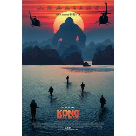 Kong Skull Island Movie Poster  11 X 17