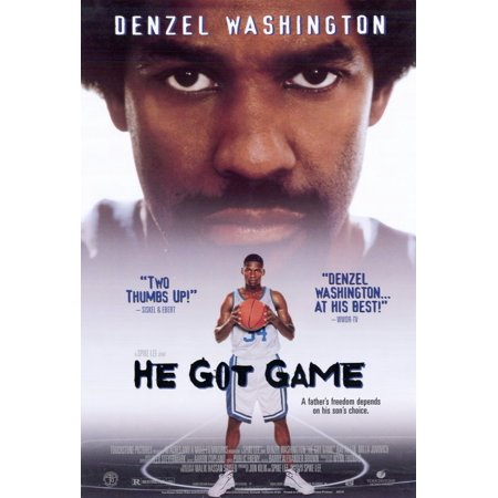 He Got Game (1998) 27x40 Movie Poster