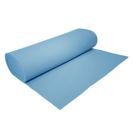 """High Quality Acrylic Felt by the Yard 72"""" Wide X 1 YD Long: Light Blue"""