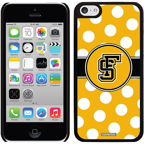 Framingham Polka Dots Design on iPhone 5c Thinshield Snap-On Case by Coveroo