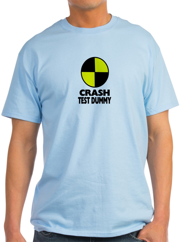 Cafepress Crash Test Dummy Light T Shirt Cp Walmart