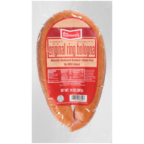 Klement's Original Ring Bologna, 14 oz