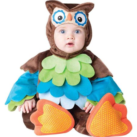 What A Hoot Owl Infant Halloween Costume](Halloween Costume Ideas For Family With Infant)