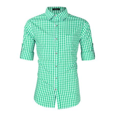Men's Oktoberfest Costumes Long Sleeve Shirt With Front Pocket