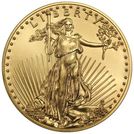American Gold Eagle 1 oz Coin - Random Year (Price Of 1 Oz Gold American Eagle)