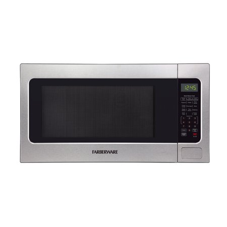 Farberware 2.2 Cu. ft. Microwave Oven, Stainless Steel, FMO22ABTBKC