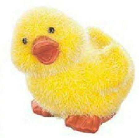 Springtime Fuzzy Lil' Duck Figurine by Ganz (Ganz Duck)