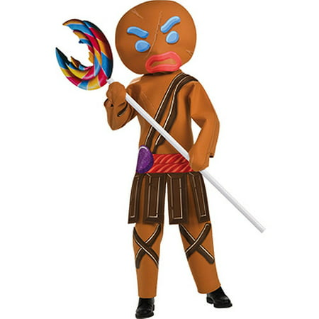 Shrek Gingerbread Man Child Halloween Costume (Halloween Shrek Games)