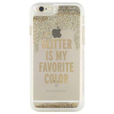 OEM Kate Spade New York Liquid Glitter Gold Case For iPhone 6 Plus/6s Plus