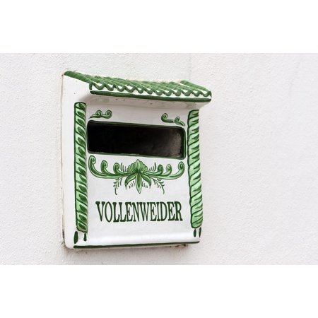 Regional Letters Mailbox Canary Islands Ceramics Poster Print 24 x (Priority Mail 1 Day Regional Rate Box A)