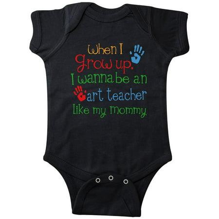 Art Teacher Like Mommy Infant Creeper