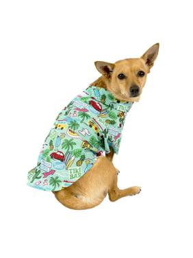Vibrant Life Vacation Dog Camp Shirt, Blue
