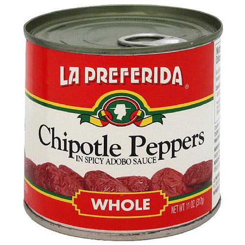 La Preferida Chipotle Chiles, 11 oz (Pack of 12)