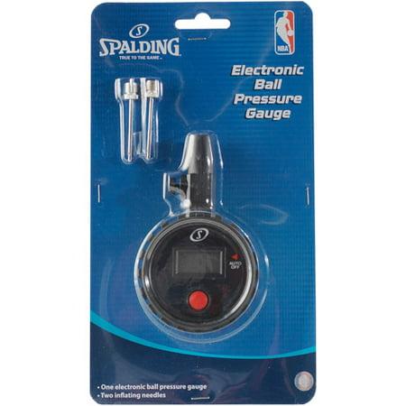 - Spalding NBA Digital Ball Pressure Gauge