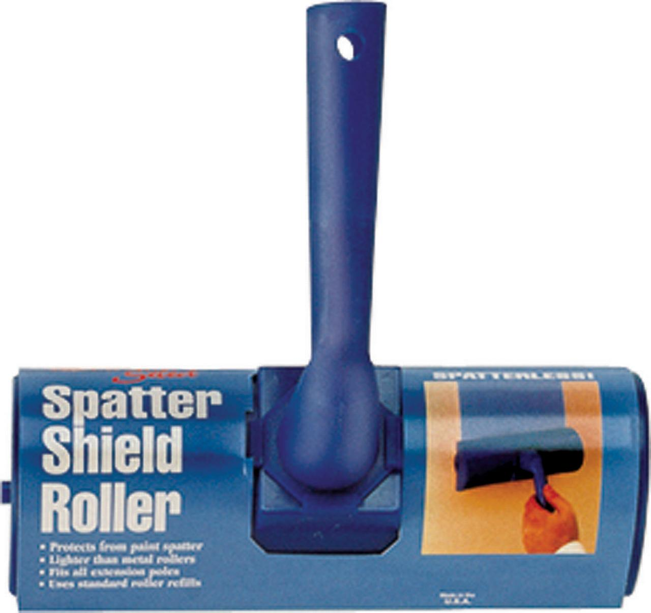 Linzer 7938 Threaded Grip Paint Splatter Guard, 3/8 in Nap, 9 in Cover, Plastic, Blue