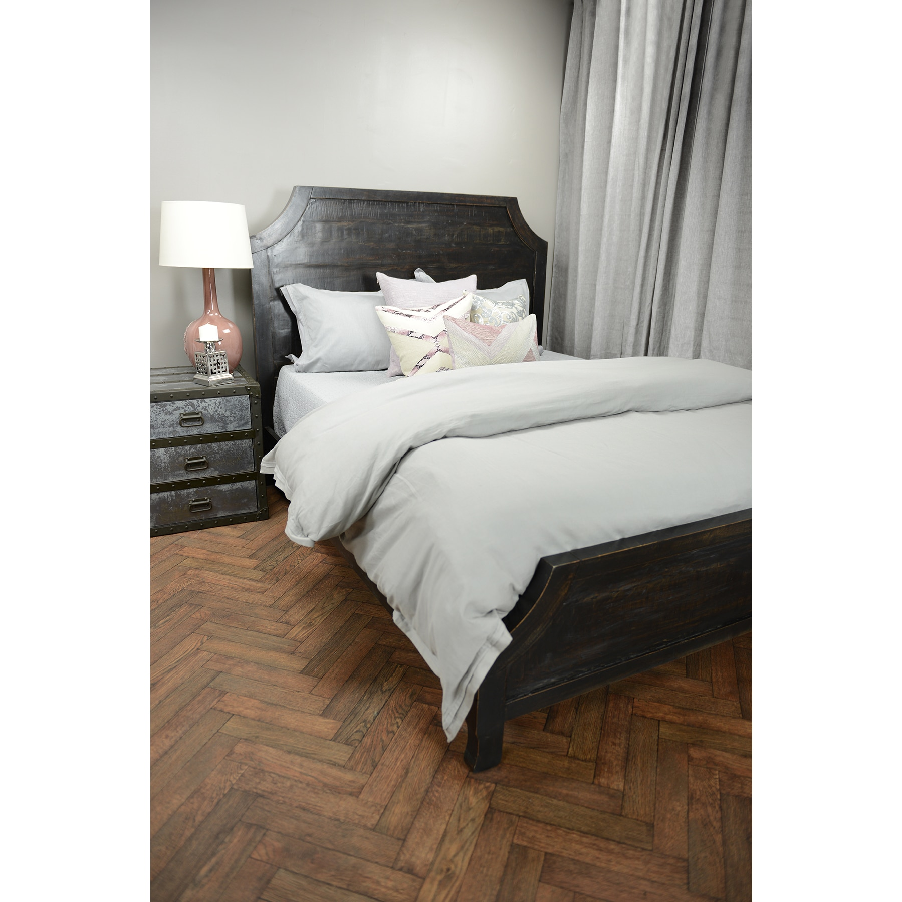 Kosas Collections Kosas Home Cosmo Black Bed