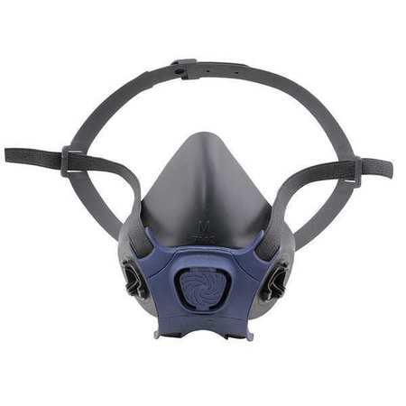 MOLDEX Half Mask Respirator,Bayonet,L 7003