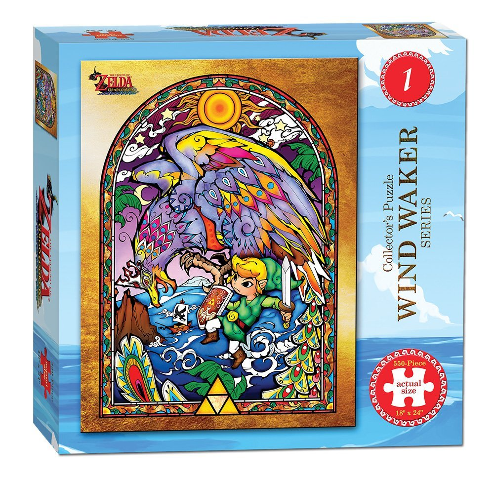 USAopoly The Legend of Zelda Wind Waker Collector's Puzzle Series 1 (550 Piece)