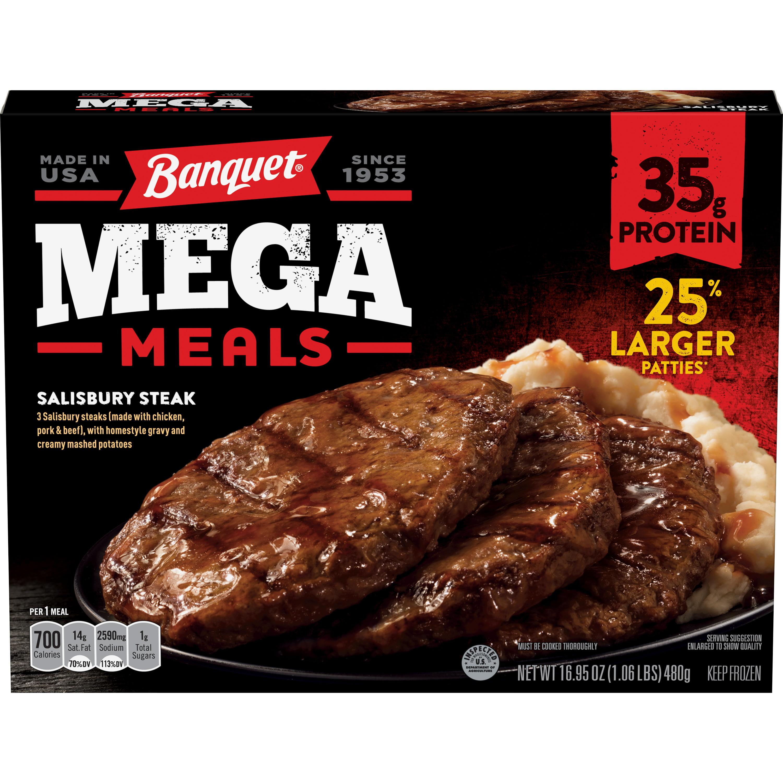 Banquet frozen meals