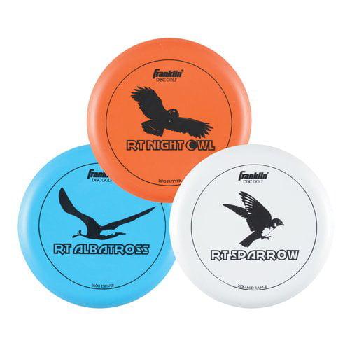 Franklin Sports 3 Disc Frisbee Golf Set Walmart Com