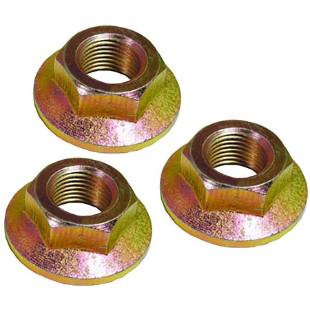 3 Pack - MTD Spindle Lock Nut 712-0417 712-0417A 912-0417A Cub Cadet MTD Toro