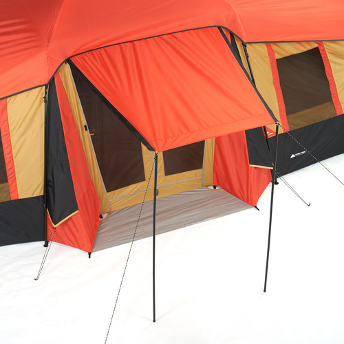 Ozark Trail 10-Person 3-Room Vacation Tent with Built-in Mud Mat  sc 1 st  Walmart.com & Ozark Trail 10-Person 3-Room Vacation Tent with Built-in Mud Mat ...