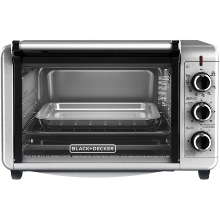 BLACK+DECKER Dining In Countertop Convection Oven, TO3210SSD
