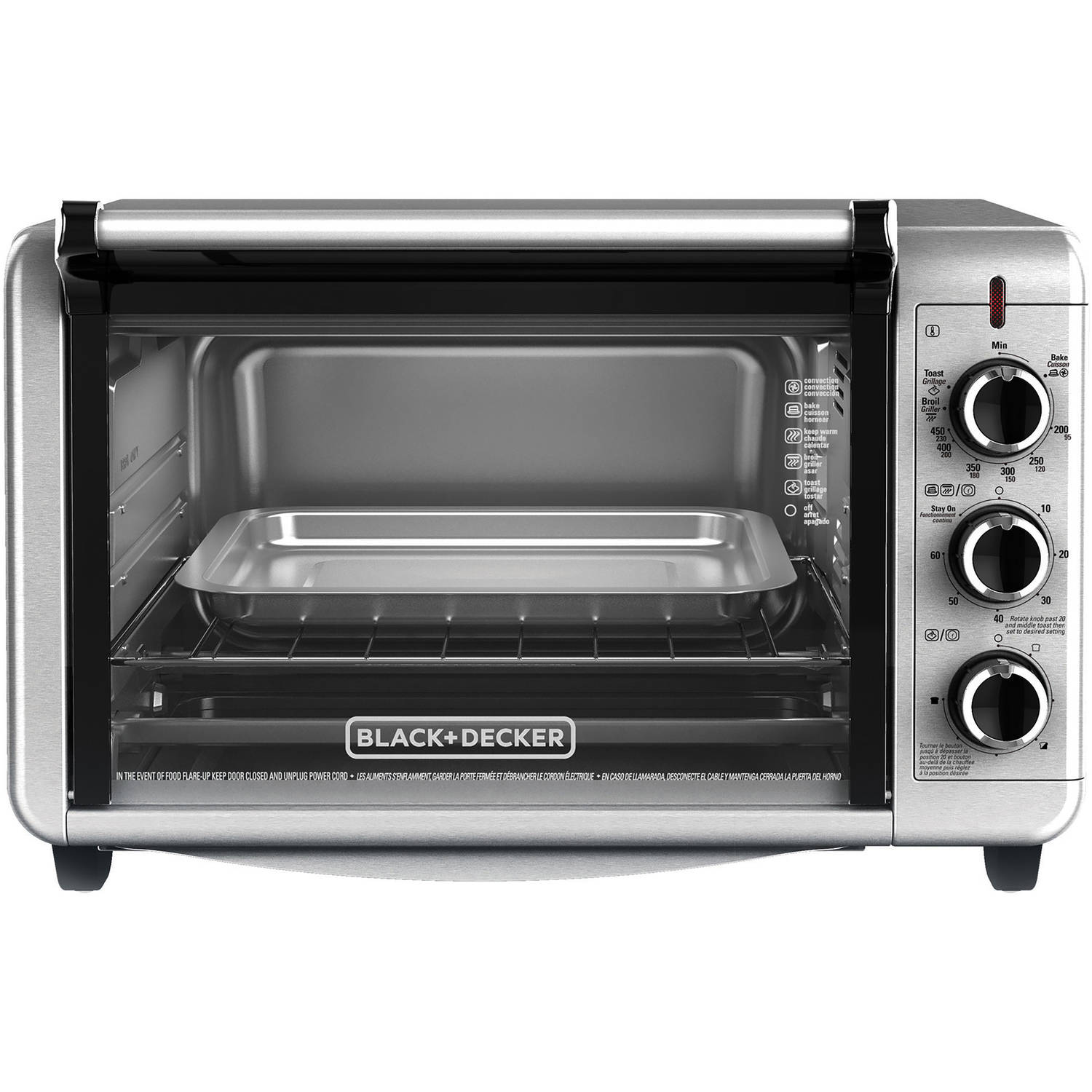blackdecker dining in countertop convection oven to3210ssd - Convection Ovens