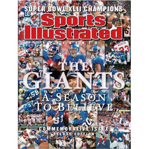 New York Giants World Champions Superbowl XLII: A Season to Believe-Commemorative Issue