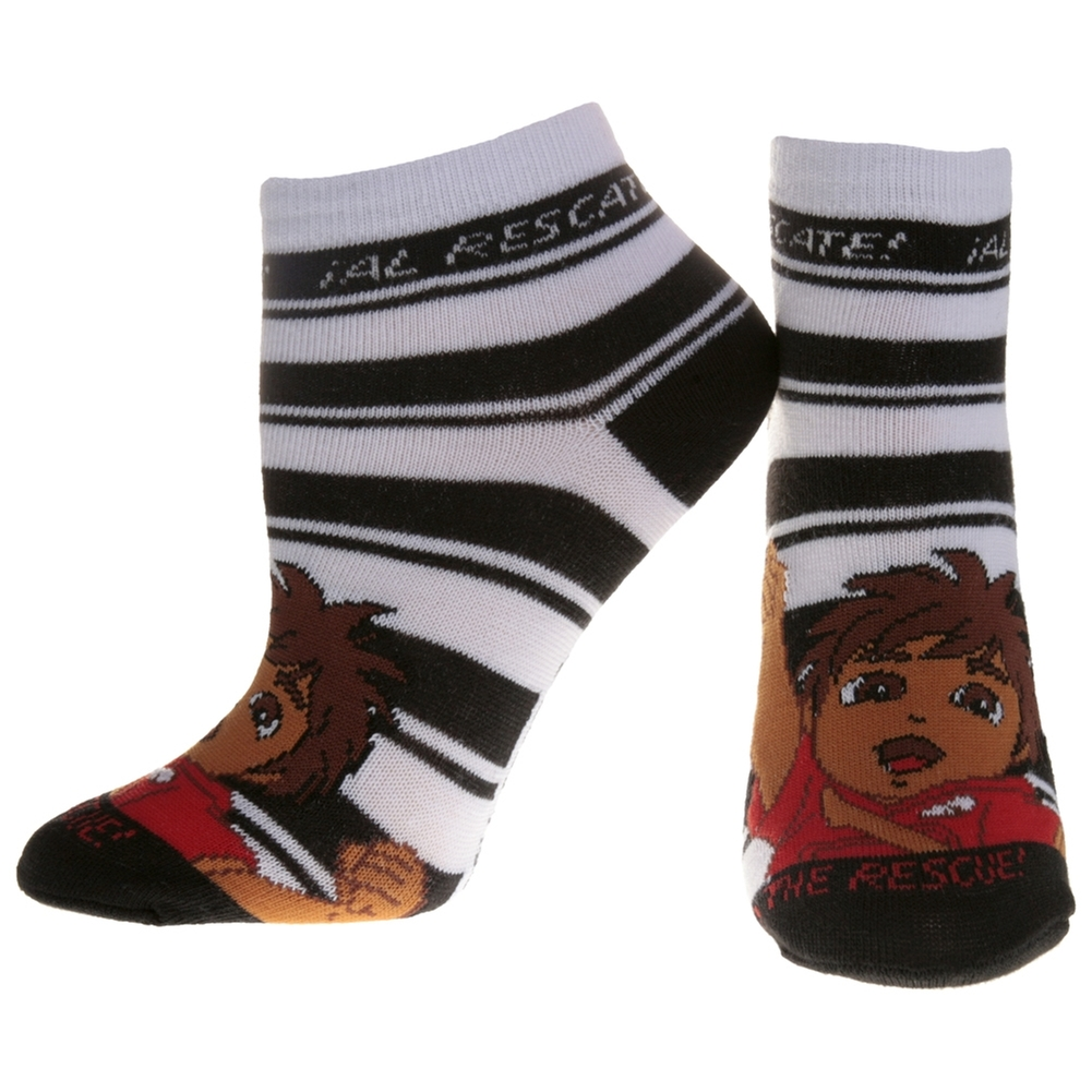 Go Diego Go - Black Stripes Socks