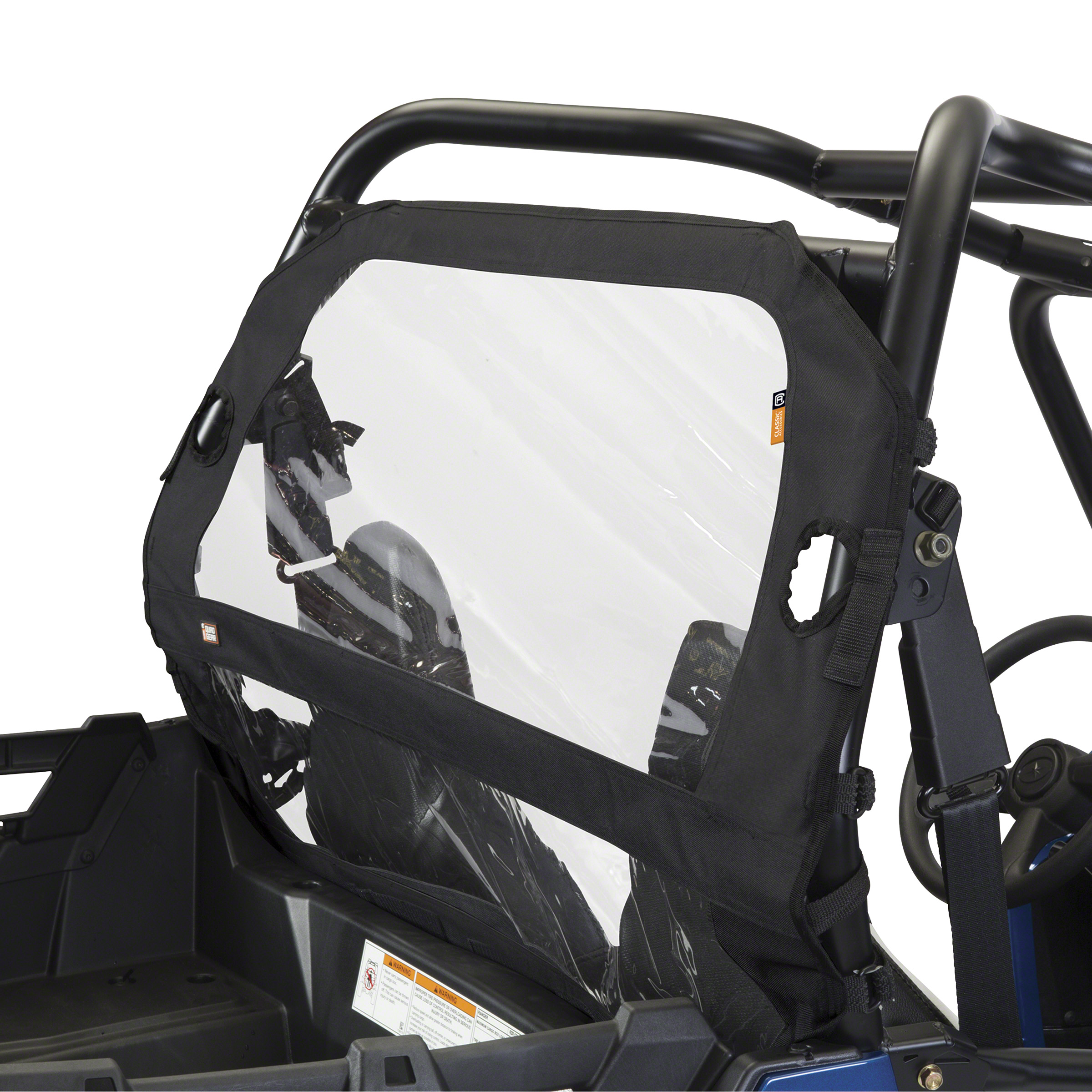 CLASSIC REAR WINDSHIELD KAW PRO BLACK Classic Accessories 18-148-010401-RT