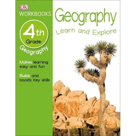 DK Workbooks: Geography, Fourth Grade : Learn and Explore - Halloween Color By Number 4th Grade