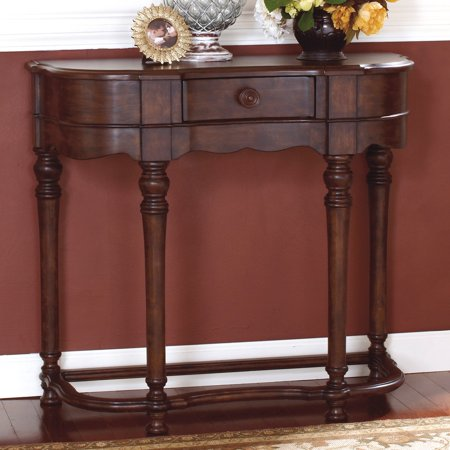 Signature Design By Ashley Brookfield Crescent Brown Sofa Table