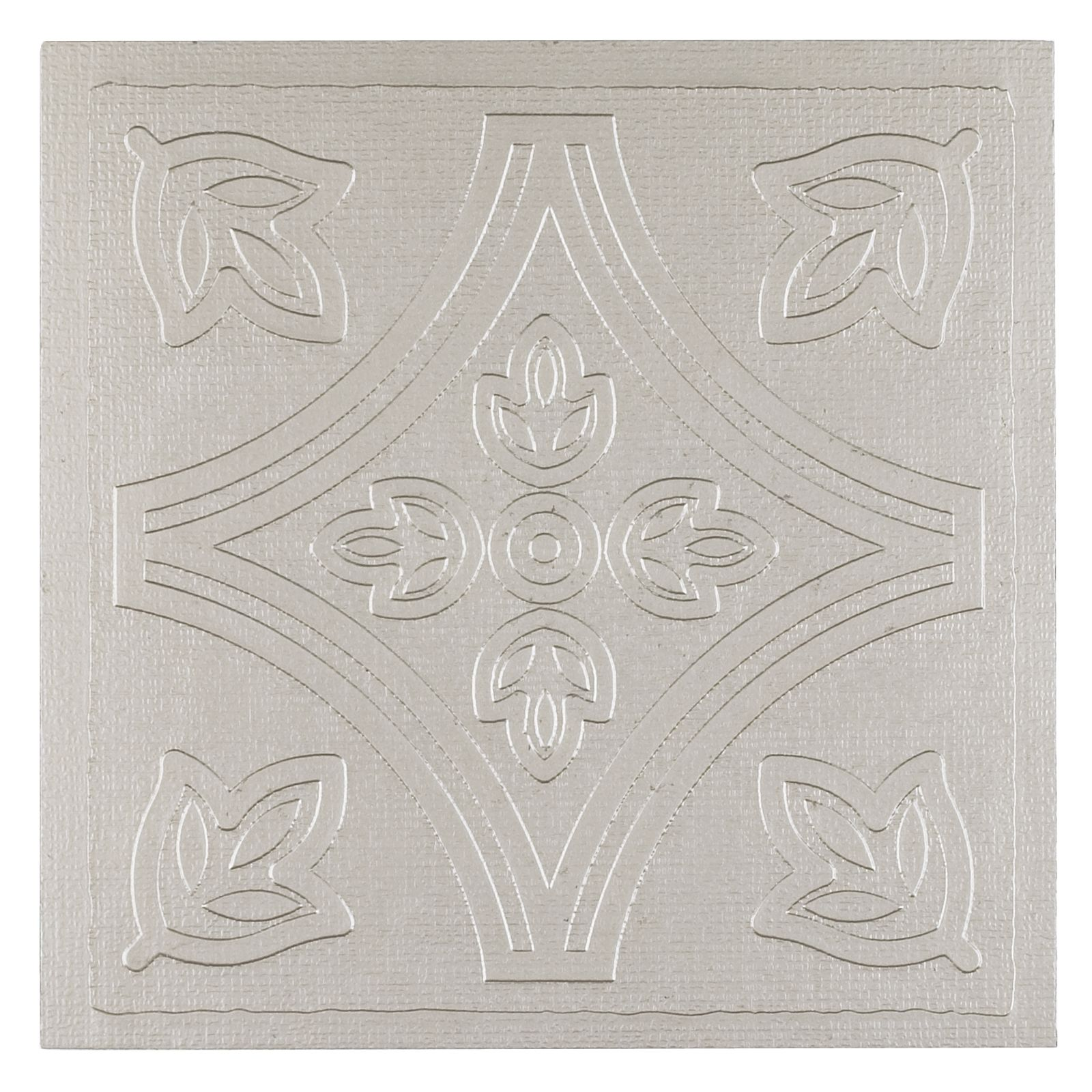 Metallo 4x4 Self Adhesive Vinyl Wall Tile - 27 Tiles/3 sq. Ft.