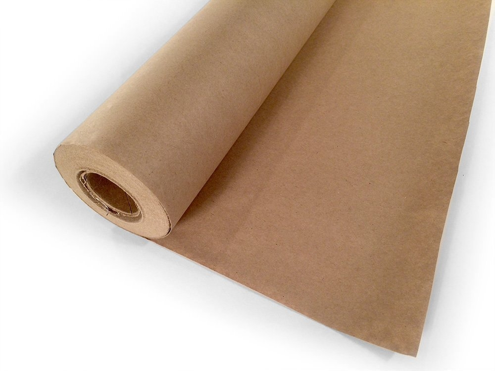 Brown Kraft Paper Roll � 18� x 2400� � 200 Feet Long � 100% Recycled Materials � 2 Rolls-... by Woodpeckers