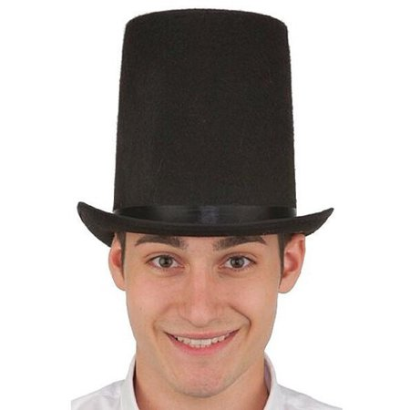 Black Felt Lincoln Stovepipe Hat](District Halloween Lincoln)