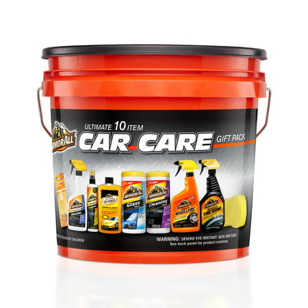 Armor All Ultimate 10 Item Car Care Gift Pack Bucket