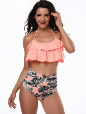 a050898c47af1 Orange Womens Swimwear - Walmart.com
