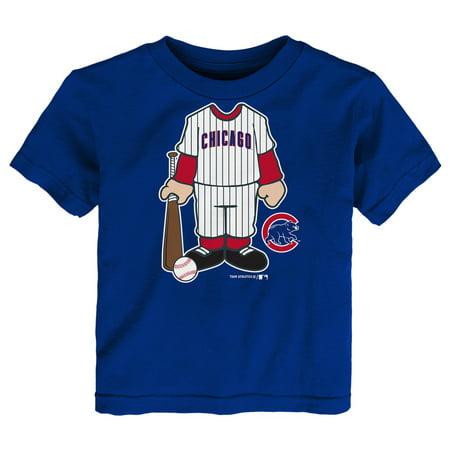 - Infant Royal Chicago Cubs Uniform T-Shirt