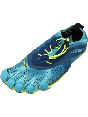 881e6021f00c Product Image Vibram Five Fingers Women s V-Run Black   Yellow Purple  Ankle-High Running Shoe