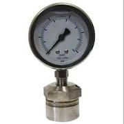 KODIAK Pressure Gauge,1/4 in. FNPT,0 to 400 ps KC301L25400/DSM3511
