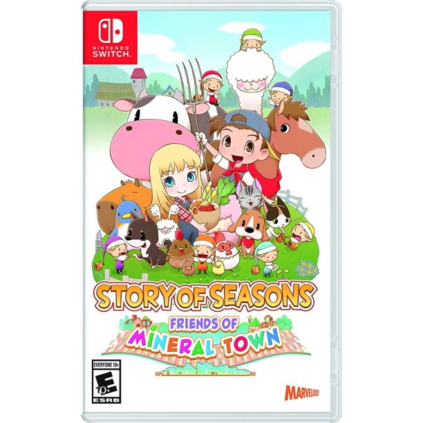 Story of Seasons: Friends of Mineral Town, XSEED, Nintendo Switch, 859716006420