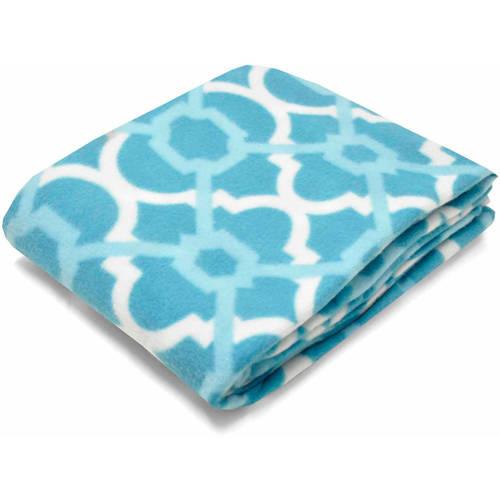"Mainstays Fleece 50"" x 60"" Leopard Throw Blanket, 1 Each"
