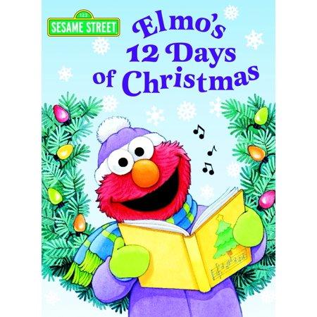 Elmo's 12 Days of Christmas (Sesame Street) - Sesame Street Halloween Book