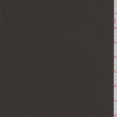 Woodland Brown Crepe Back Satin, Fabric Sold By the Yard Yard Crepe Back Satin