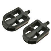 """Pedals 1/2"""" 203 Stamper Black. Bike pedals, bicycle pedal, for lowrider , beach cruiser, chopper, limo, stretch bike"""
