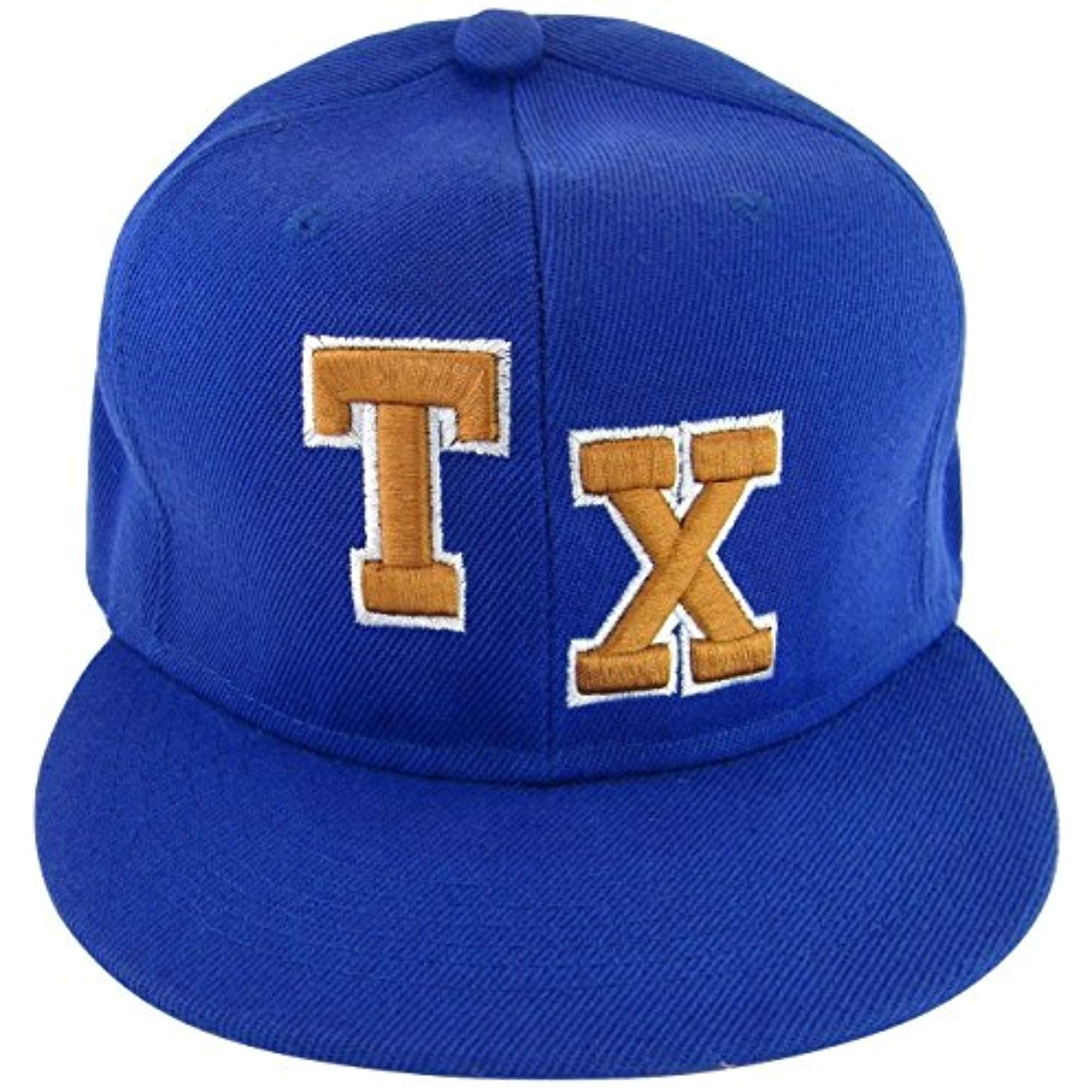 "Men TEXAS /""TX/"" FASHION Baseball Free Size Cap"