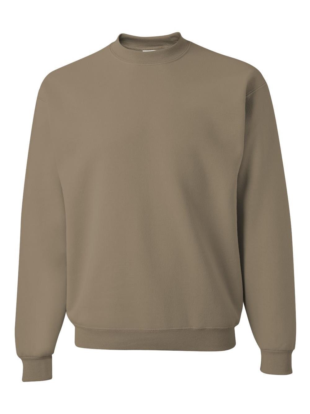 Jerzees NuBlend Crewneck Sweatshirt. Maroon. XL.