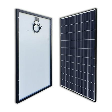 Solar Electric Panels - Renogy 270 Watt 24 Volt Polycrystalline Solar Panel